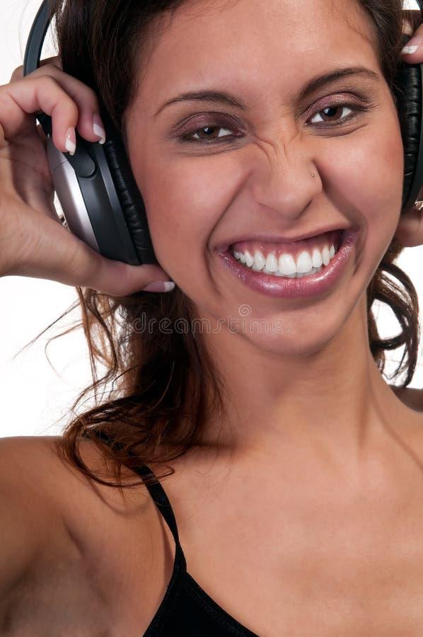 Freundlich mit Musik lizenzfreie stockfotografie