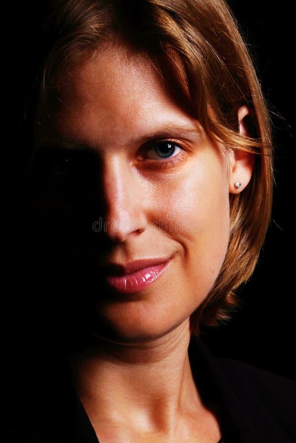 Freundliche Frau lizenzfreies stockfoto