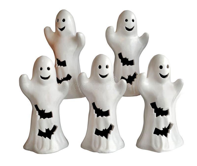 Freundliche Halloween Geist-Verzierungen Unscary lizenzfreie stockfotos