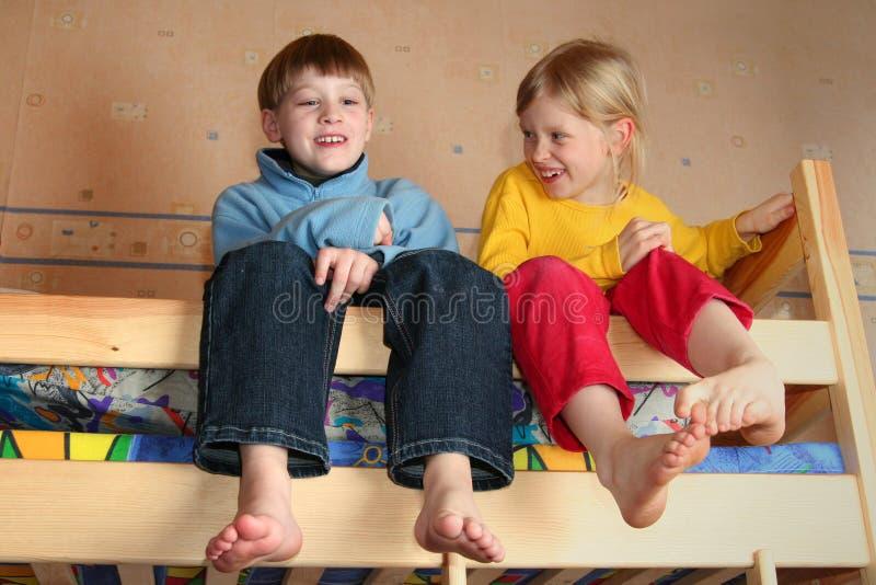 Freundliche Kinder stockbilder