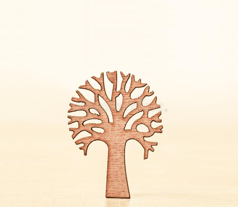 Freundlicher Baum Eco lizenzfreies stockbild