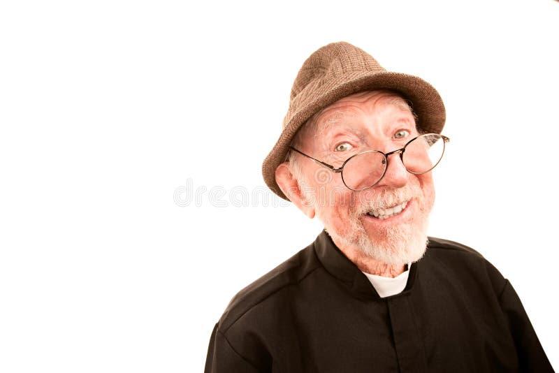 Freundlicher Klerus lizenzfreies stockfoto