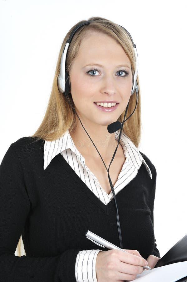 Freundlicher Kundendienst lizenzfreie stockfotos