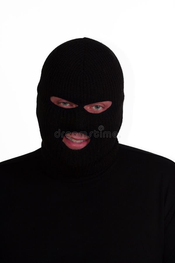 Freundlicher Verbrecher lizenzfreie stockbilder