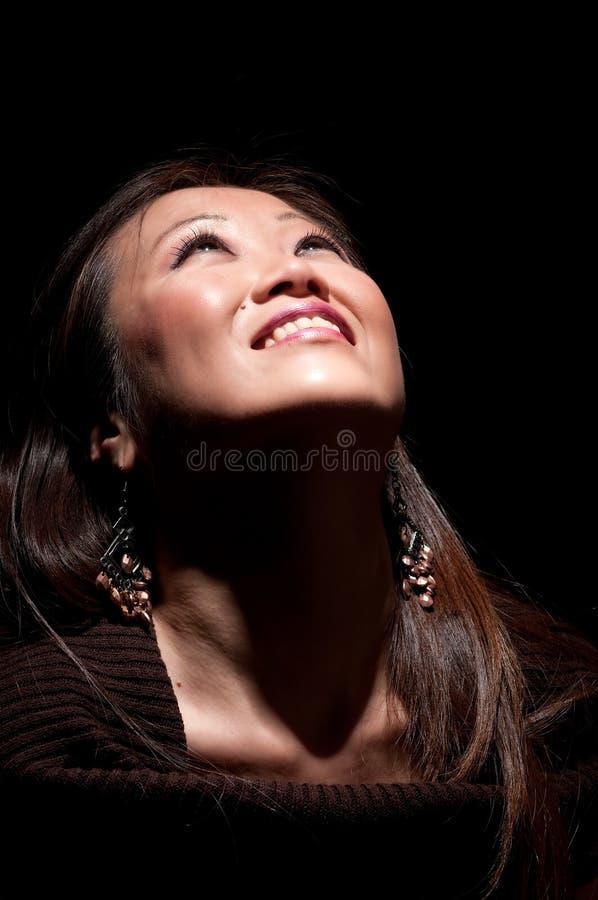 Freundliches asiatisches lizenzfreie stockfotografie