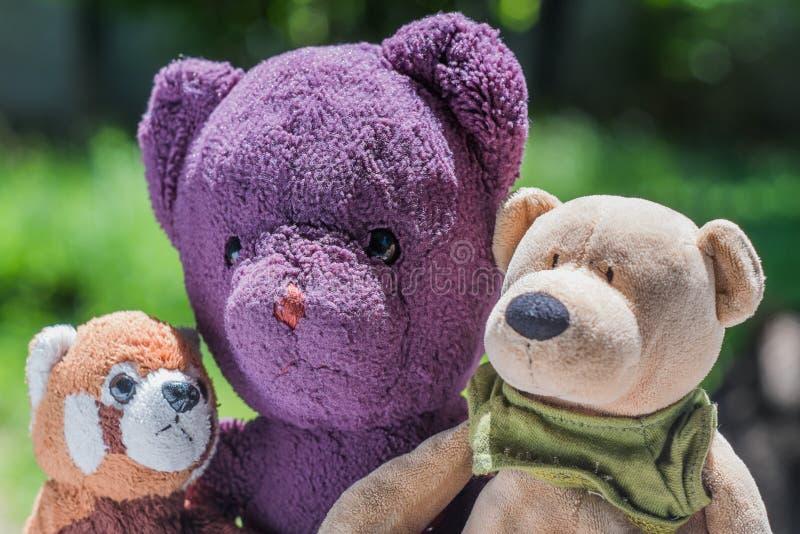 Freundschaft der drei Puppen lizenzfreie stockfotografie