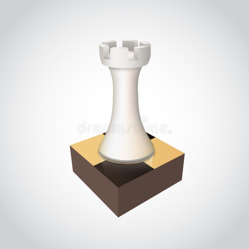Freux d'échecs à bord illustration libre de droits