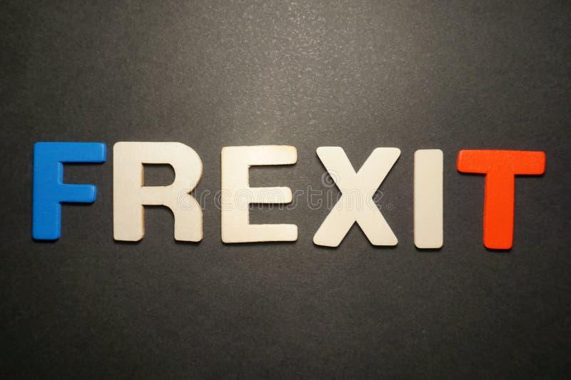Frexit στοκ εικόνες