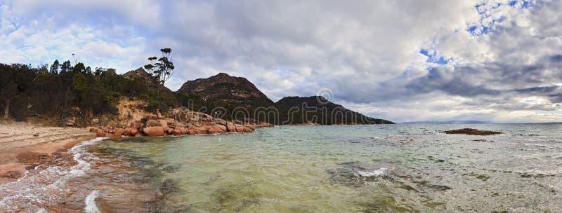 Freycinet Honeymoon Panorama Stock Photo