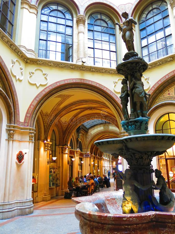 Freyung段落在维也纳 免版税库存图片