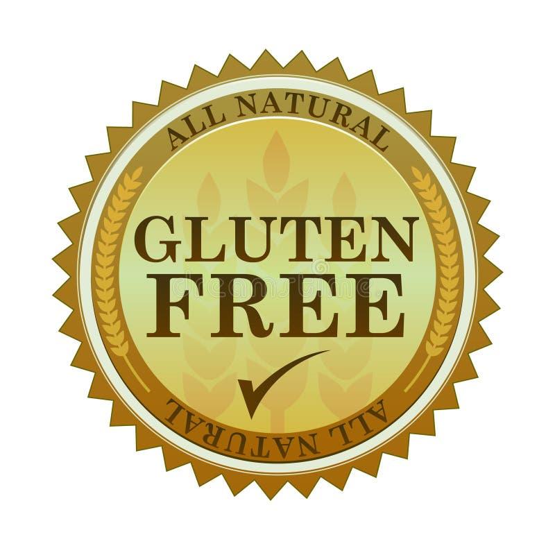 fri glutenskyddsremsa royaltyfri illustrationer