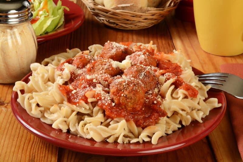 Fri pastamatställe för gluten arkivbilder