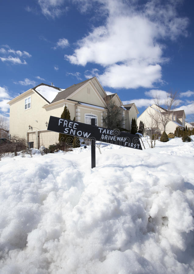 fri snow arkivfoton