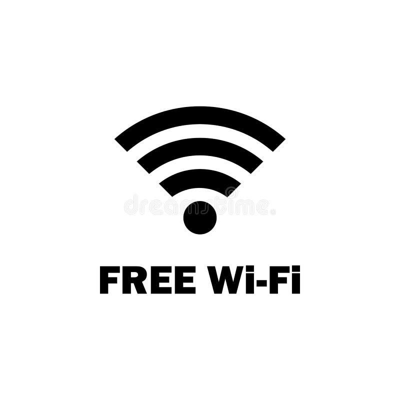 fri wifizonsymbol Beståndsdel av loppsymbolen för mobila begrepps- och rengöringsdukapps Den detaljerade fria wifizonsymbolen kan stock illustrationer