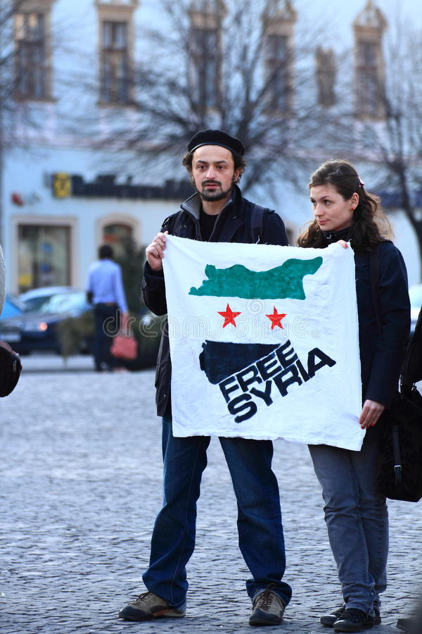 fria syria arkivfoto