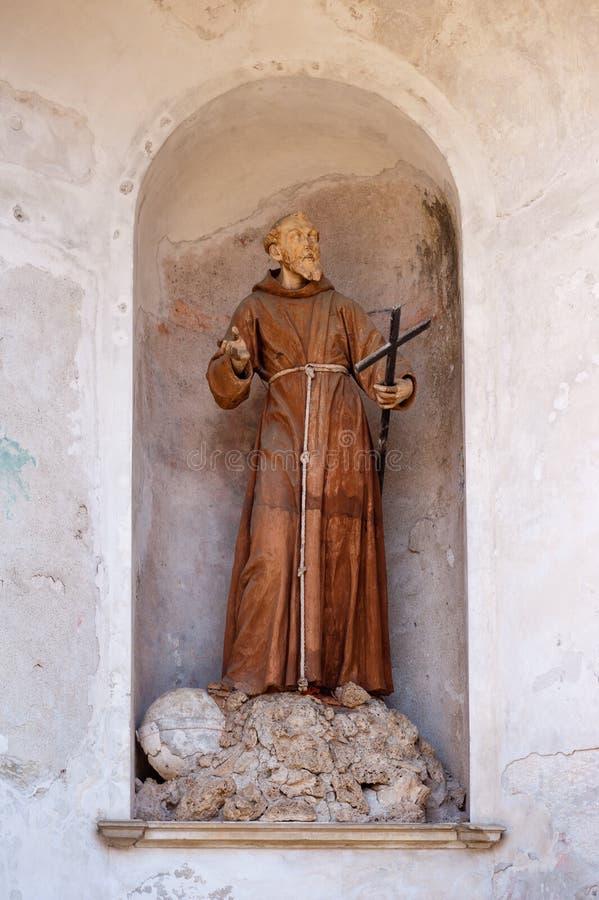 friar άγαλμα στοκ φωτογραφία με δικαίωμα ελεύθερης χρήσης