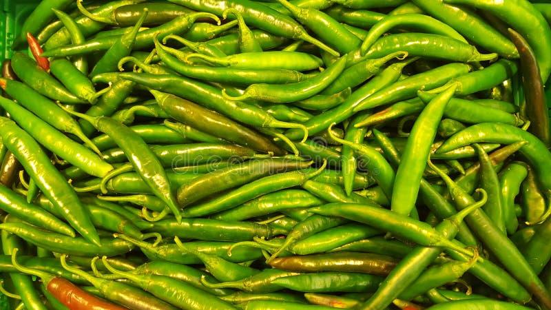 Friarelli Peperoncini caldi di Peperoncino fotografie stock