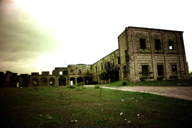Friars' Convent, ruinerna från ett ganska gammalt kloster i Carmona Seville 1 arkivfoton