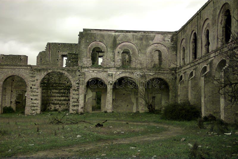 Friars' Convent, ruinerna från ett ganska gammalt kloster i Carmona Seville 23 arkivbilder