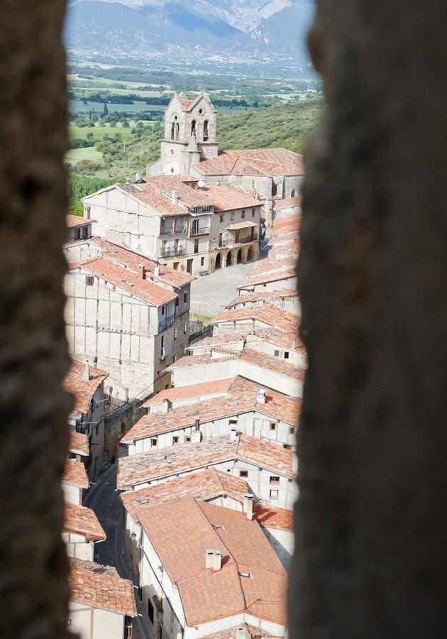 Frias village (Burgos, Spain) royalty free stock photos