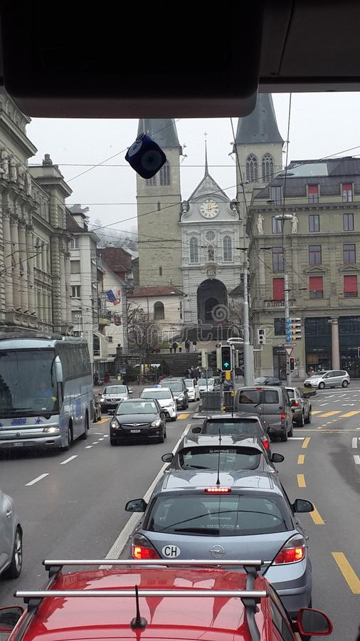 Fribourg royalty-vrije stock afbeeldingen