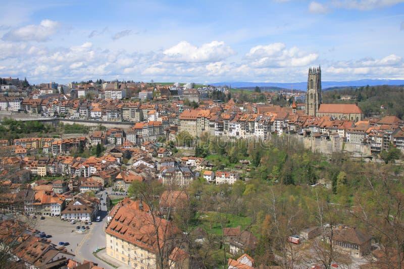 Fribourg στοκ εικόνα με δικαίωμα ελεύθερης χρήσης