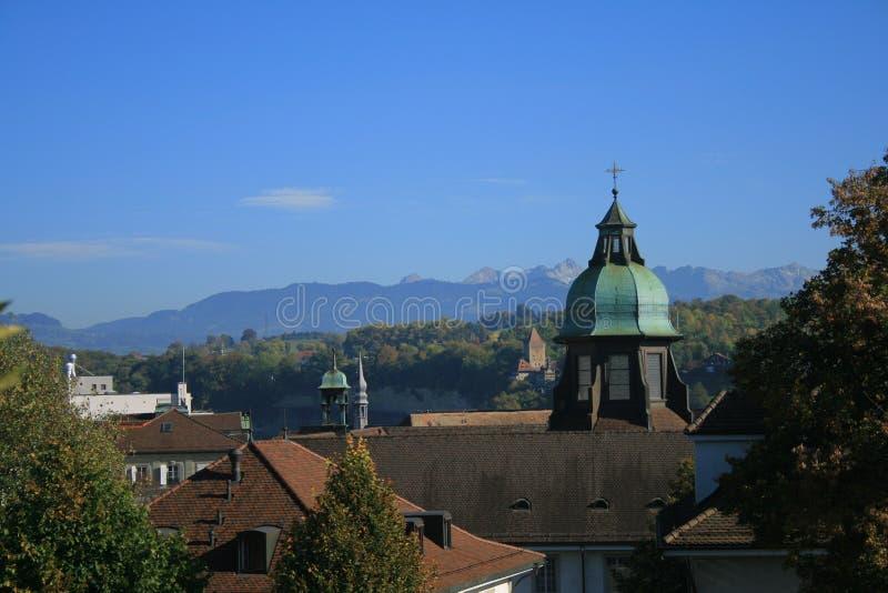 Fribourg στοκ φωτογραφία με δικαίωμα ελεύθερης χρήσης