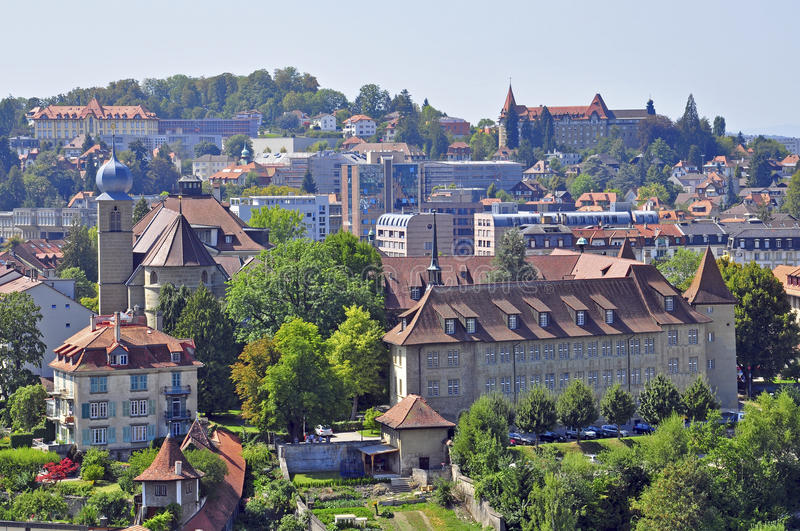 Fribourg stock foto