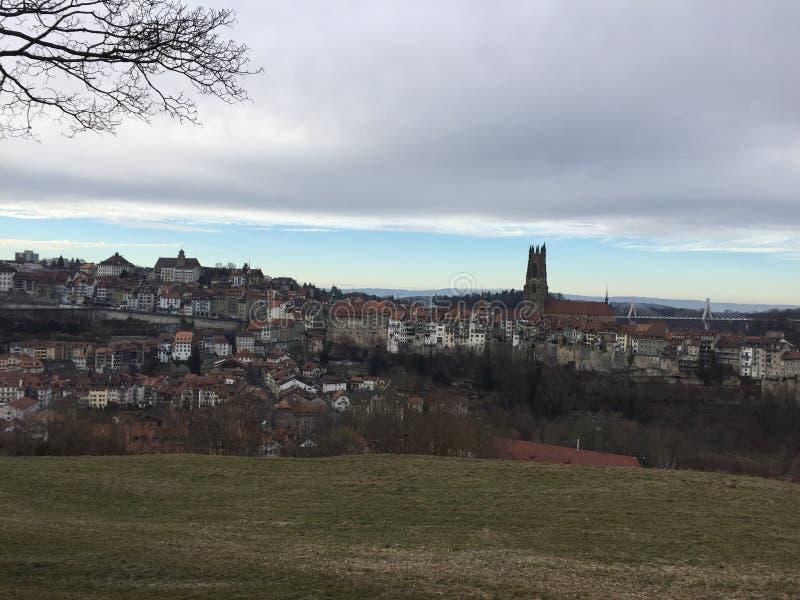 Fribourg image libre de droits