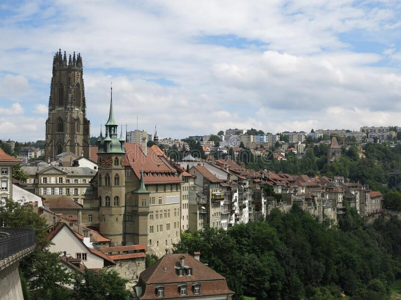 Fribourg, Suisse stockfoto