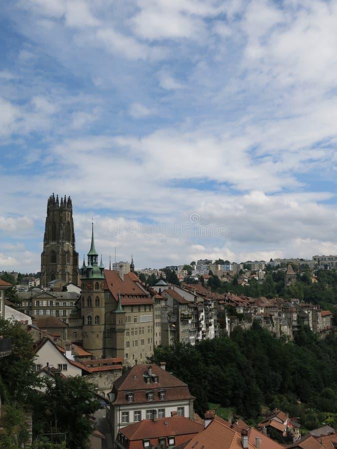 Fribourg, Suisse stockfotografie