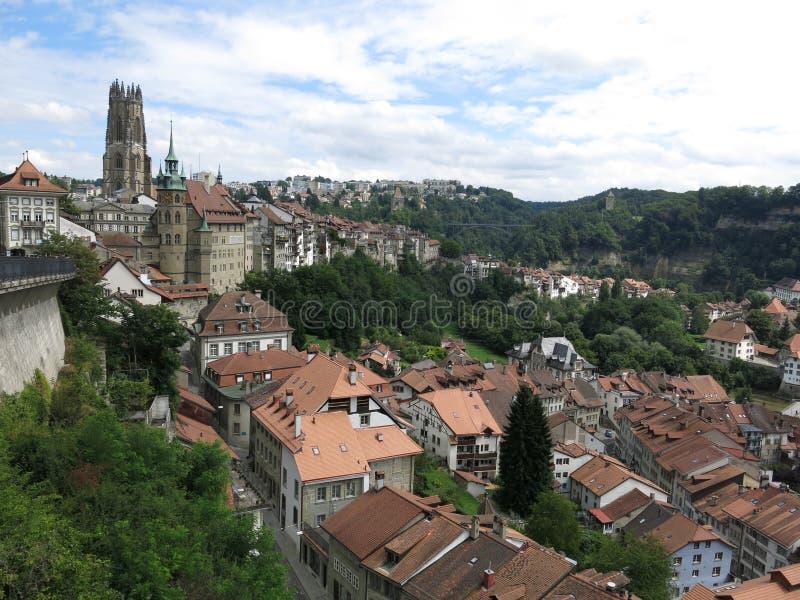 Fribourg, Suisse lizenzfreies stockfoto