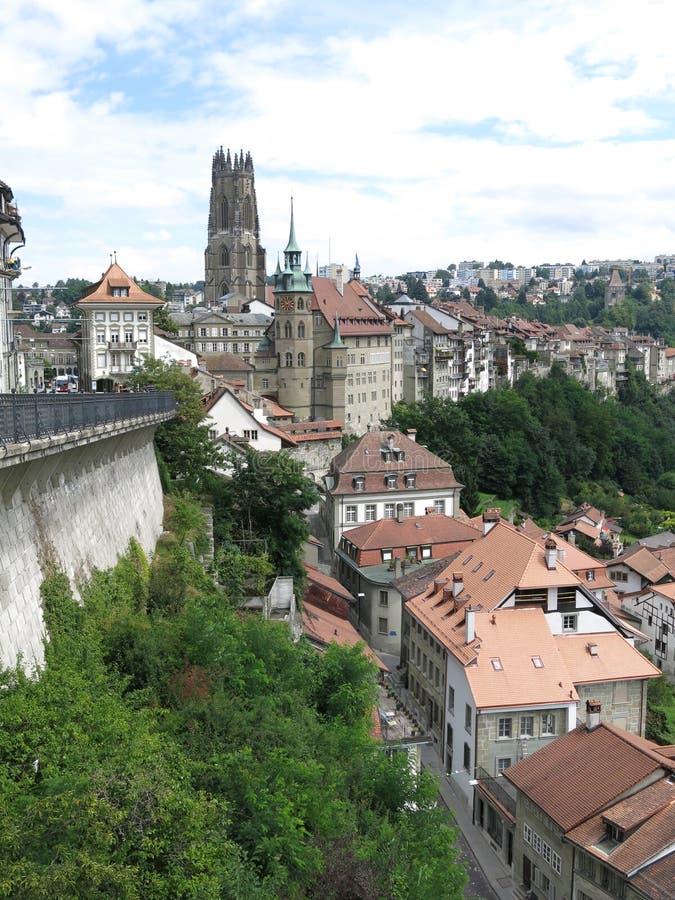 Fribourg, Suisse lizenzfreie stockfotos