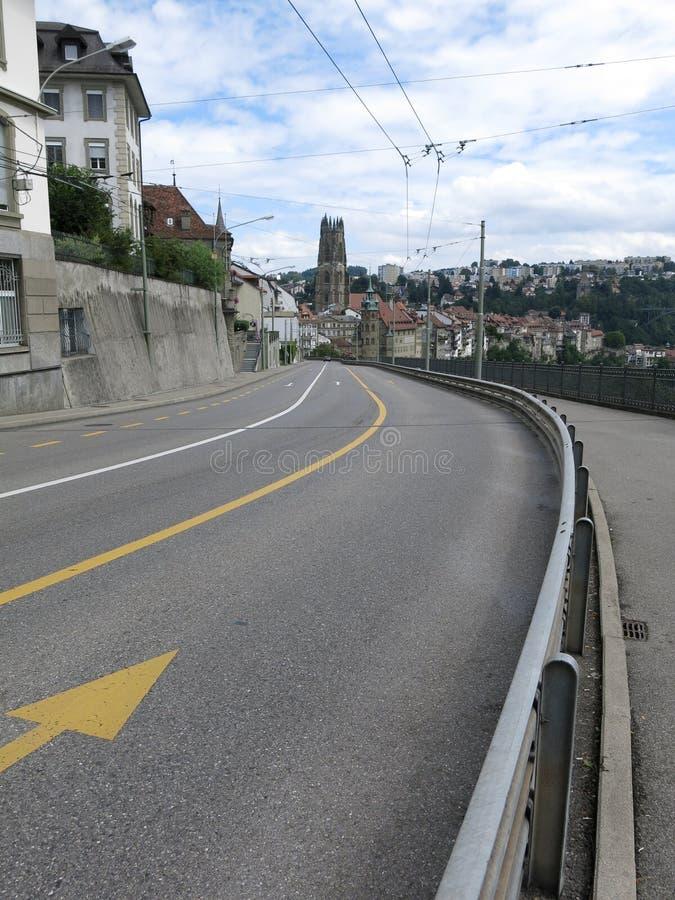 Fribourg, Suisse stockbild
