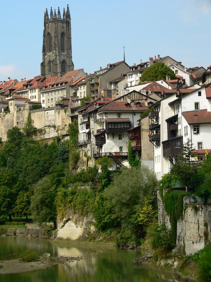 Free Fribourg ( Switzerland ) Royalty Free Stock Images - 24462059