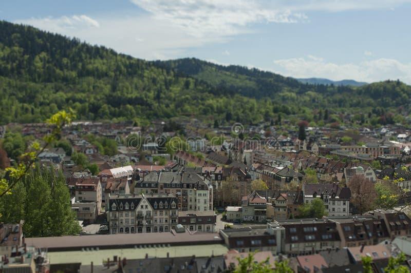 Friburgo, Alemania - Schlossberg foto de archivo