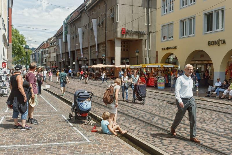FRIBURGO IM BREISLAU, GERMANY-JUNE 25,2015 foto de archivo