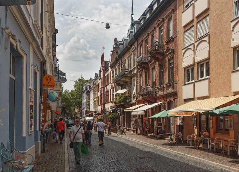 FRIBURGO IM BREISLAU, GERMANY-JUNE 25,2015 fotografía de archivo