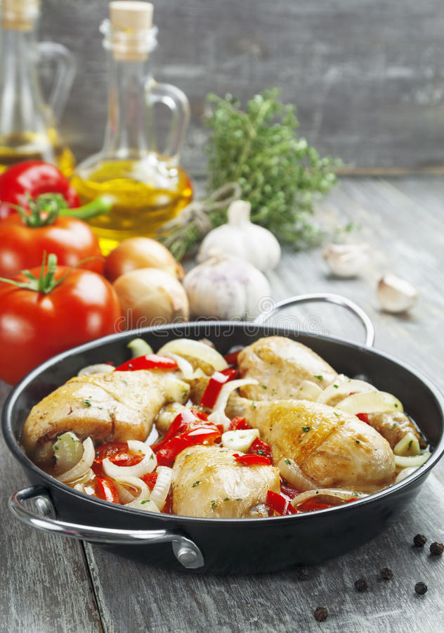 Download Fricassee stock photo. Image of dish, pepper, paprika - 39502548
