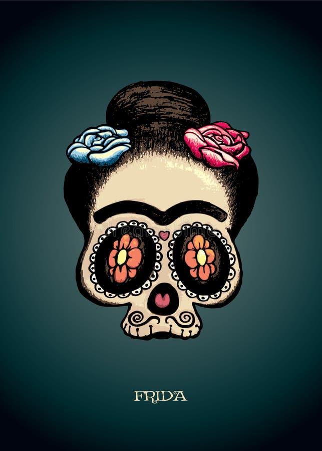 Frida stock illustrationer