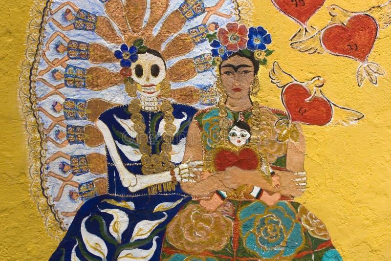 Frida Kahlo royalty-vrije stock afbeeldingen
