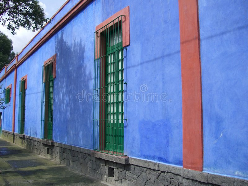 Download Frida Kahlo Museum stock image. Image of travel, mexico - 1098877