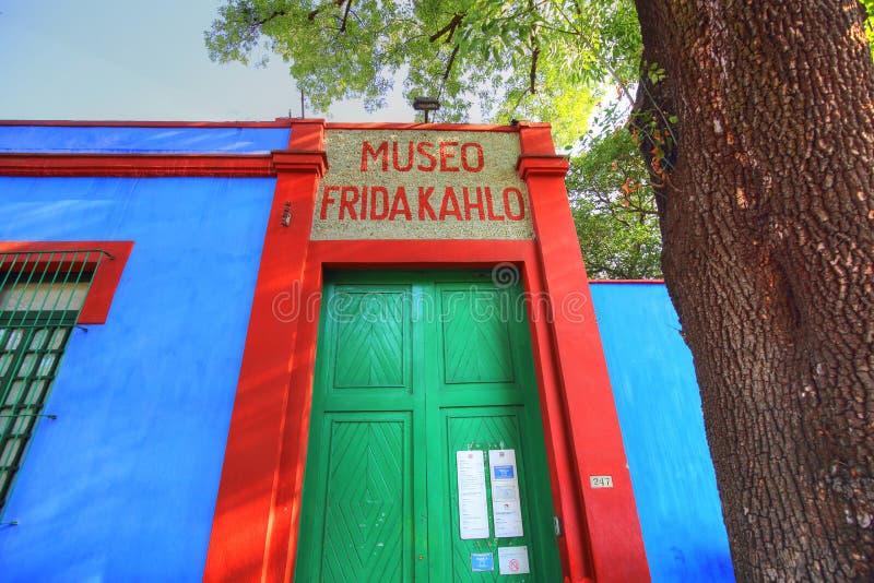 Frida Kahlo Museum photo stock