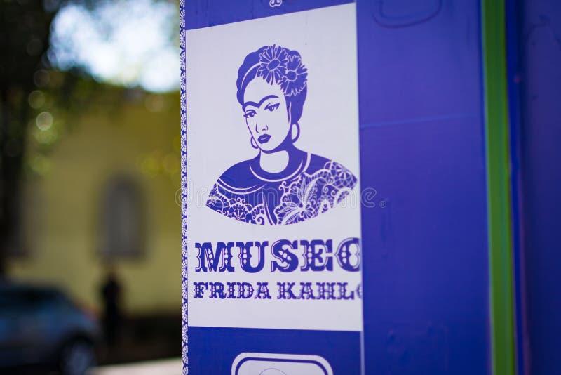 Frida Kahlo muzeum obrazy royalty free