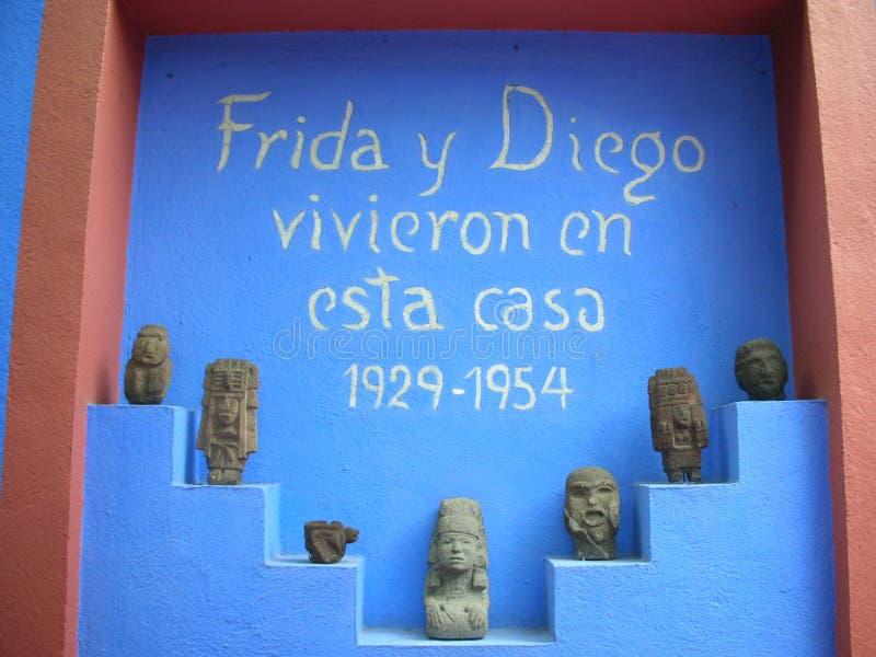 Frida y Diego lizenzfreies stockfoto