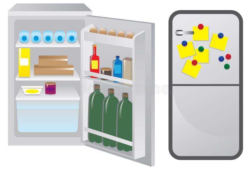 Fridge. Cute illustration of a fridge vector illustration