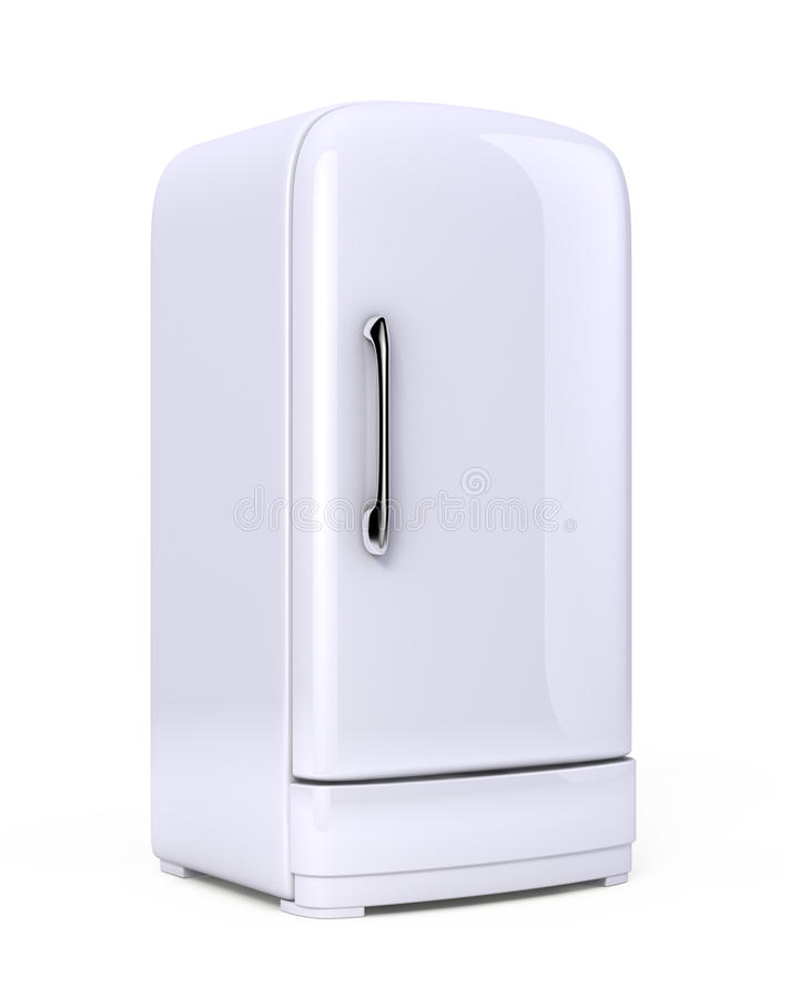 fridge retro ilustracji