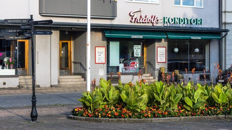 Fridolfs légendaire Konditori Café photographie stock