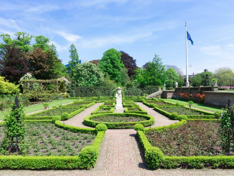Fridsamma Rose Garden fotografering för bildbyråer