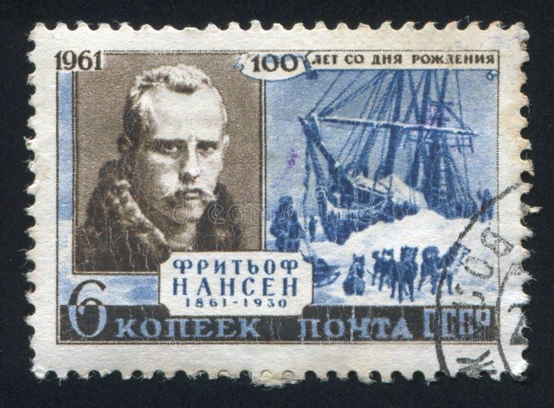 Fridtjof Nansen imagem de stock royalty free